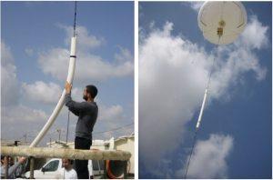 HTA-Aerostat antenna, VHF
