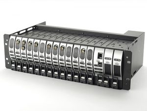 ViaLiteHD 3U rack chassis with RF over fibre links